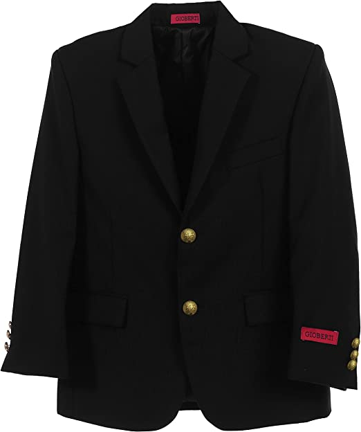 BLZ Gioberti Toddlers Kids Boys Formal Blazer Jacket