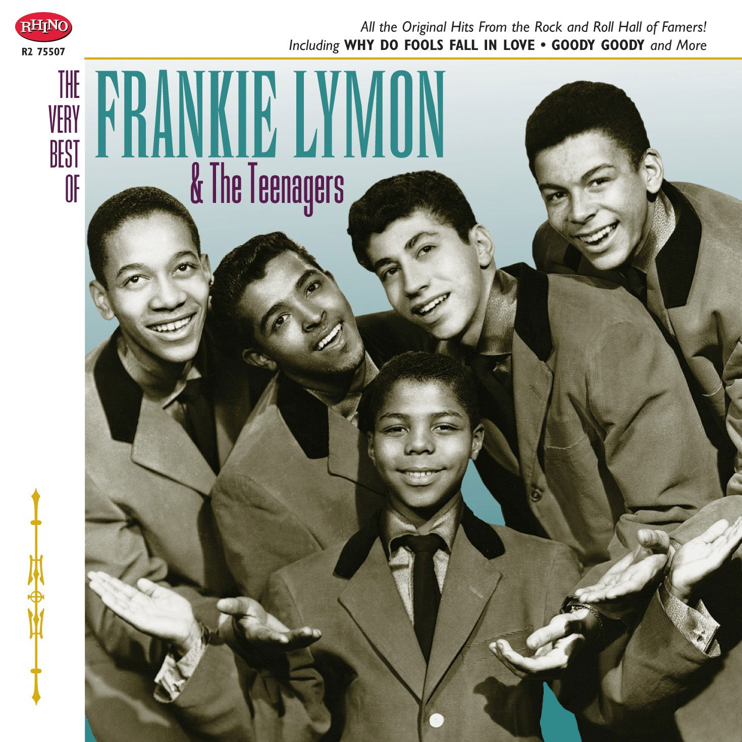 Frankie Lymon and The Teenagers - The Very Best Of Frankie Lymon & The Teenagers - Amazon.com Music
