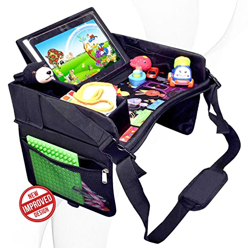 DMoose Travel Lap Activity Tray For Kids & Toddlers