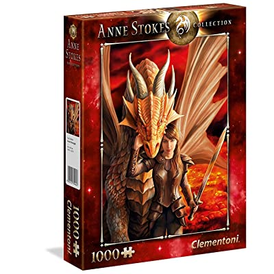 Clementoni 39464 Clementoni-39464-Anne Stokes Collection-Inner Strenght-1000 Pieces, Multi-Colour: Toys & Games