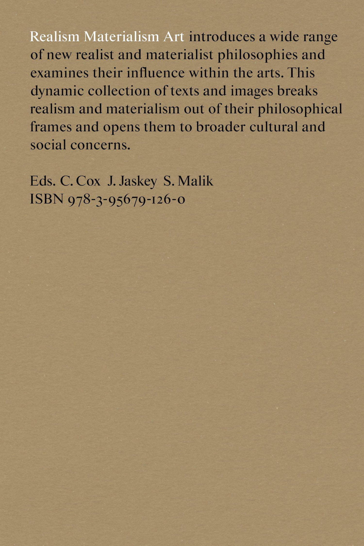 Realism Materialism Art ebook