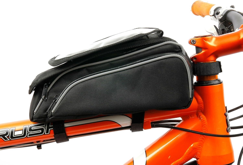 DURAGADGET Bolsa/Alforja de Bicicleta para Smartphone Honor 20 ...