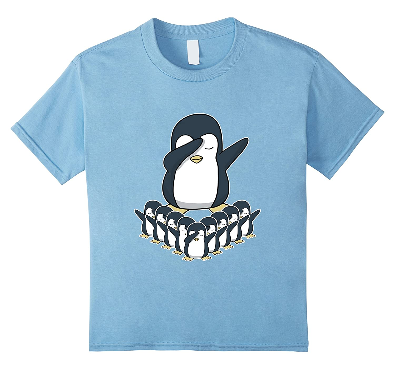 Womens Dabbing Penguin T Shirt Shirt-Veotee
