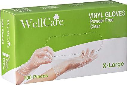 Gloves Vinyl Size X-Large Multipurpose  Powdered