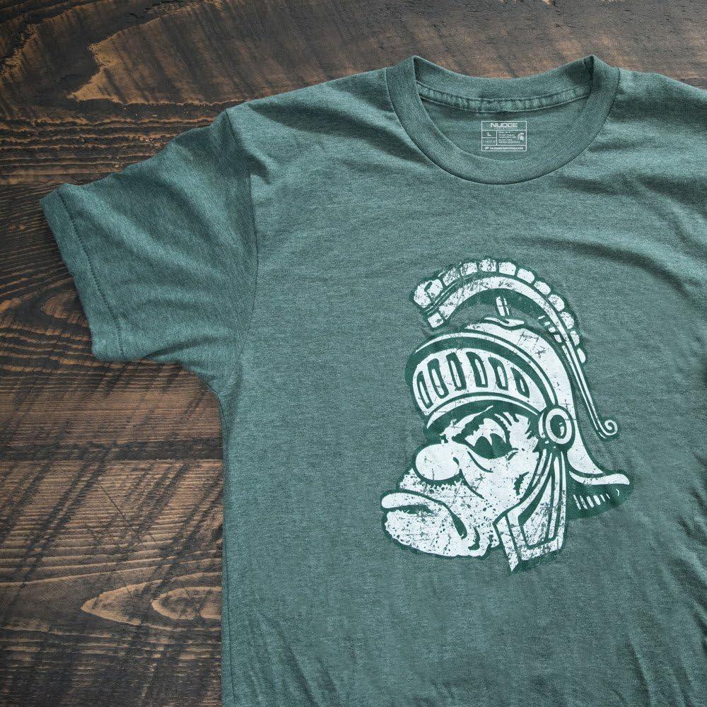 Nudge Nudge Printing Michigan State University Spartans Passport T-Shirt Printed in Michigan