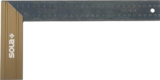 Sola Schreinerwinkel rot SRC 350 beschichtet 350x170 mm Winkel