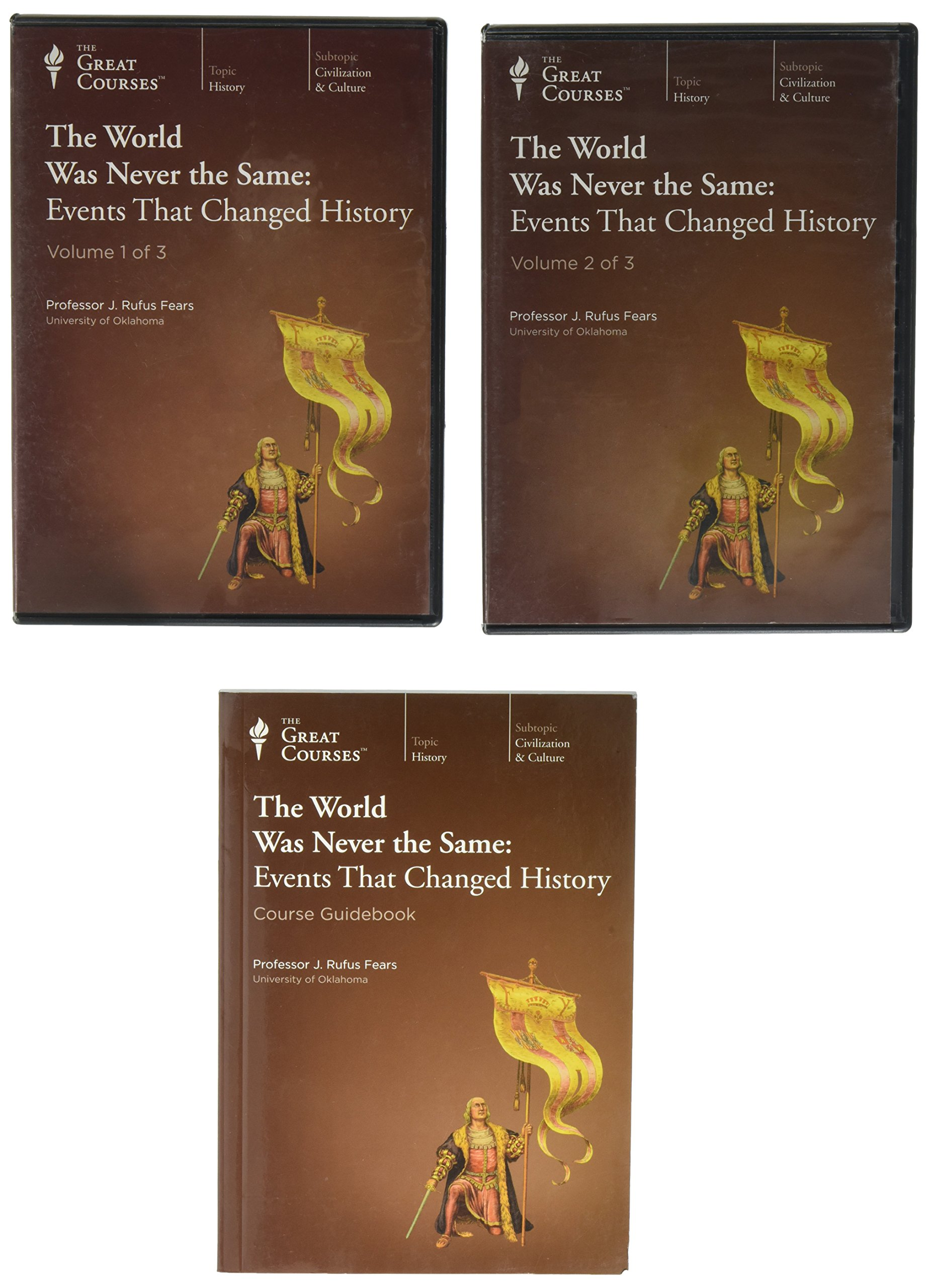 Great Courses Events Changed History product image