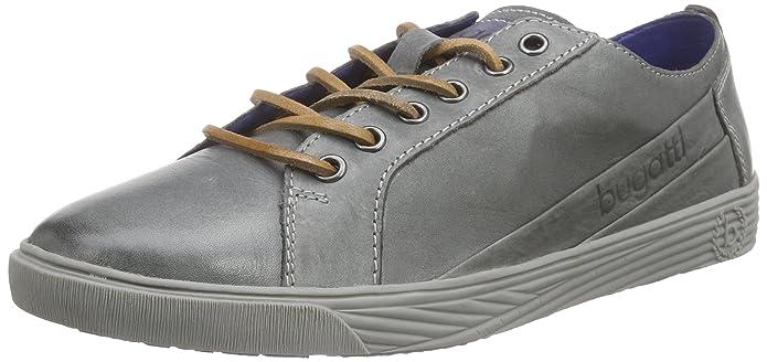 BugattiF5010PR1 - Zapatillas Hombre, Color Gris, Talla 44 amazon-shoes el-gris Cuero