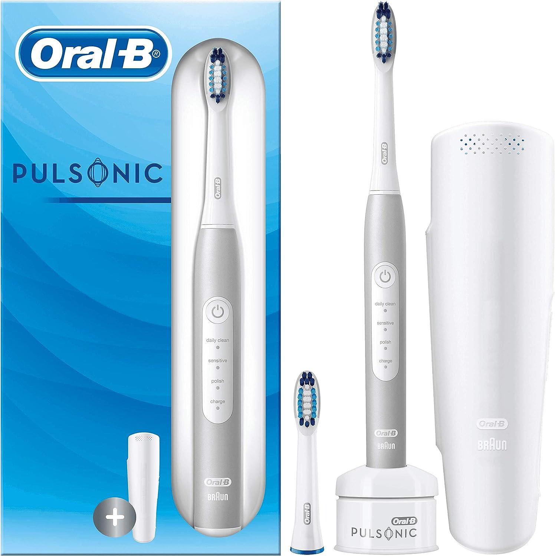 Oral-B Pulsonic Slim Luxe 4200 Platinum Sonic - Cepillo de Dientes ...