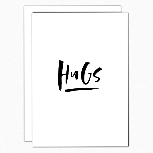 amazon com hugs card feel better card get well soon card