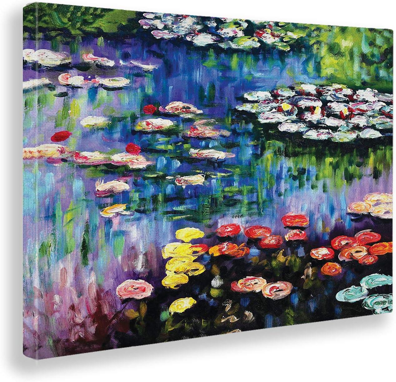 Giallobus - Cuadro - Claude Monet - Nenúfares de Estanque en ...