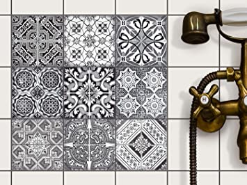 Tile Stickers Self Adhesive Vinyl Tile Transfers Foil Decals