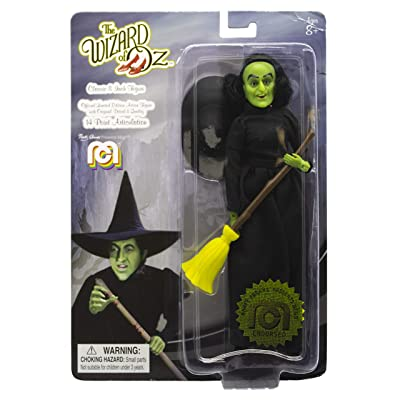 "Mego Action Figures, 8"" Wizard of Oz - Wicked Witch (1st Time Available in Single Pack) (Limited Edition Collector's Item): Toys & Games"