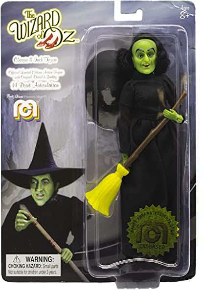 "8"" Wizard of Oz Mego Action Figures Dorothy 1st Time Available in Single Pack"