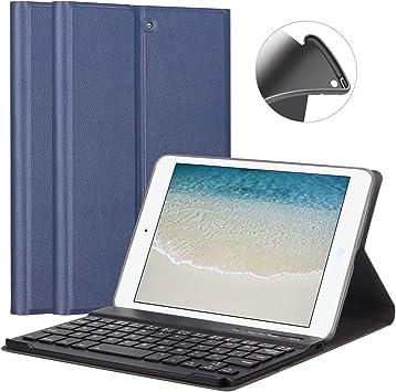 GOOJODOQ Funda de Teclado para iPad Mini 1/2/3 7.9