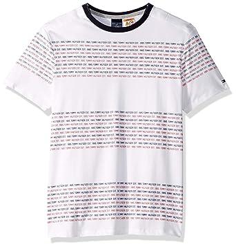 72c79d80562e Image Unavailable. Image not available for. Color: Tommy Hilfiger Men's Adaptive  Signature T-Shirt ...