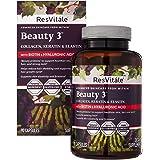 ResVitale Advanced Skincare Beauty 3 90 Capsules