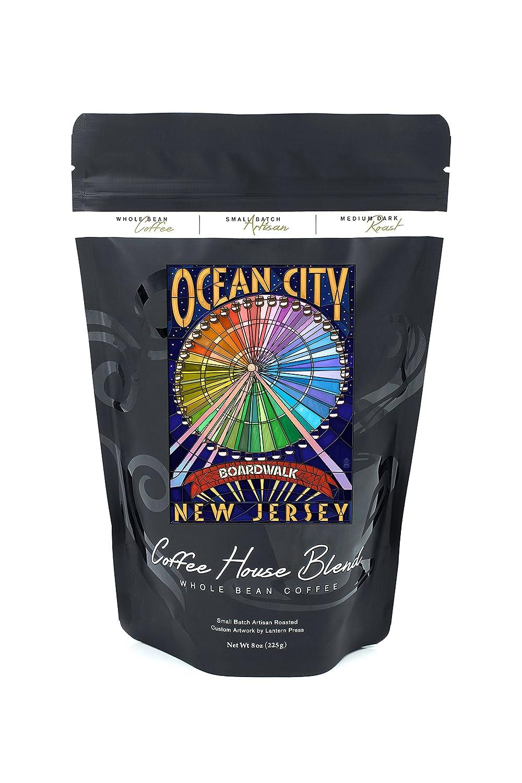 経典ブランド Ocean City 8oz、新しいジャージー – 8oz – Boardwalk観覧車 12 x 18 Metal Sign LANT-46481-12x18M B074S1RNY8 8oz Coffee Bag 8oz Coffee Bag, ニシノオモテシ:89333da2 --- mcrisartesanato.com.br