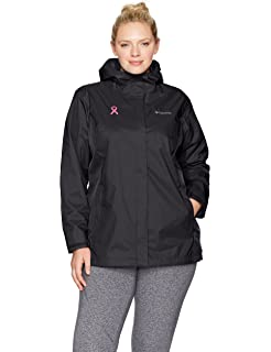 47fd01730a5 Amazon.com  Columbia Women s Plus-Size Pardon My Trench Rain Jacket ...
