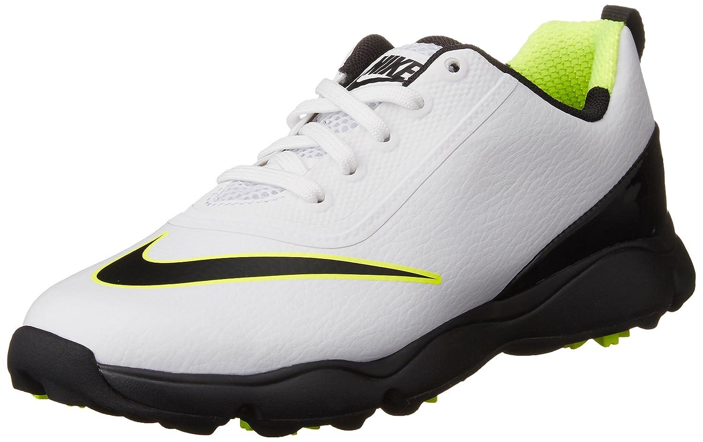 d1274d7de8 Nike Kid's Control Jr Golf Shoes, (White/Black/Volt), 5.5 UK: Amazon.co.uk:  Sports & Outdoors