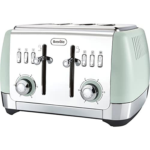 Breville-Strata-4-Slice-Toaster---Mint-Green