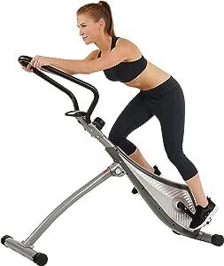 Sunny Salud y Fitness sf-b0419 inclinación Plank de pie Bicicleta ...