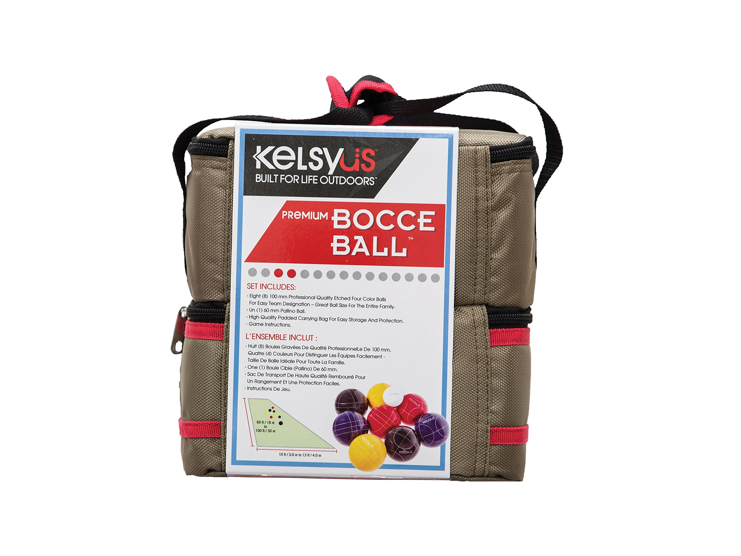 Kelsyus Premium Bocce Ball Game by Kelsyus (Image #5)