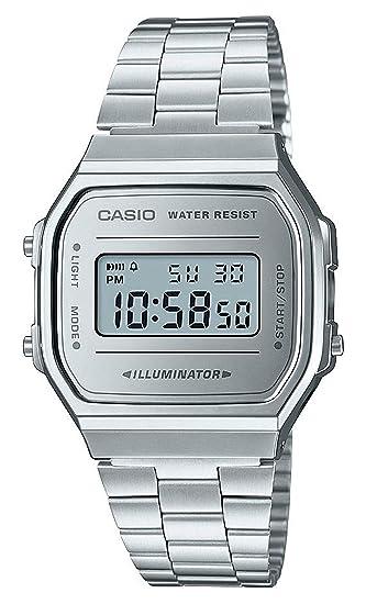 Casio Smart Watch Armbanduhr A168WEM-1EF: Amazon.es: Relojes
