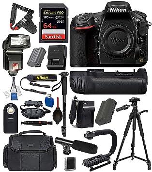 Amazon.com: Nikon D810 Digital SLR Cámara de marco completo ...