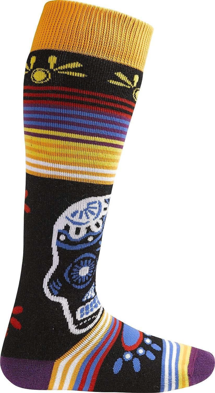 Burton Party - Calcetines para mujer multicolor Calaveras Talla:talla media/grande: Amazon.es: Deportes y aire libre