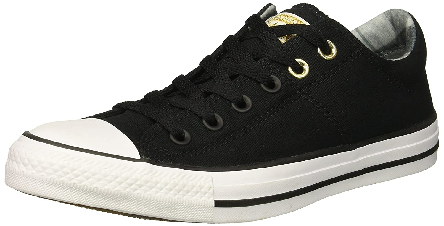 Converse Women's Chuck Taylor All Star Madison Low Top Sneaker B078NGLCDQ 5 B(M) US|Black/White/Black