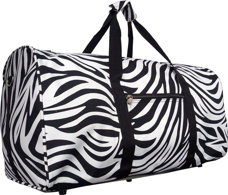 Anchor Print Nautical 22 Inch Duffel Travel Dance Gym Bag