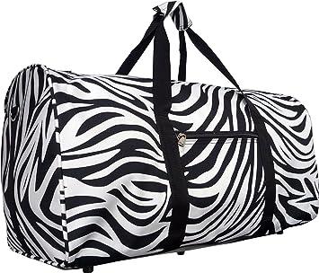 22 Polyester Duffel Bag-Black