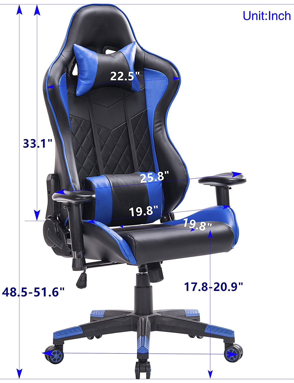 Top Gamer Gaming Stuhl High-Back Computer Stuhl Ergonomische Racing ...