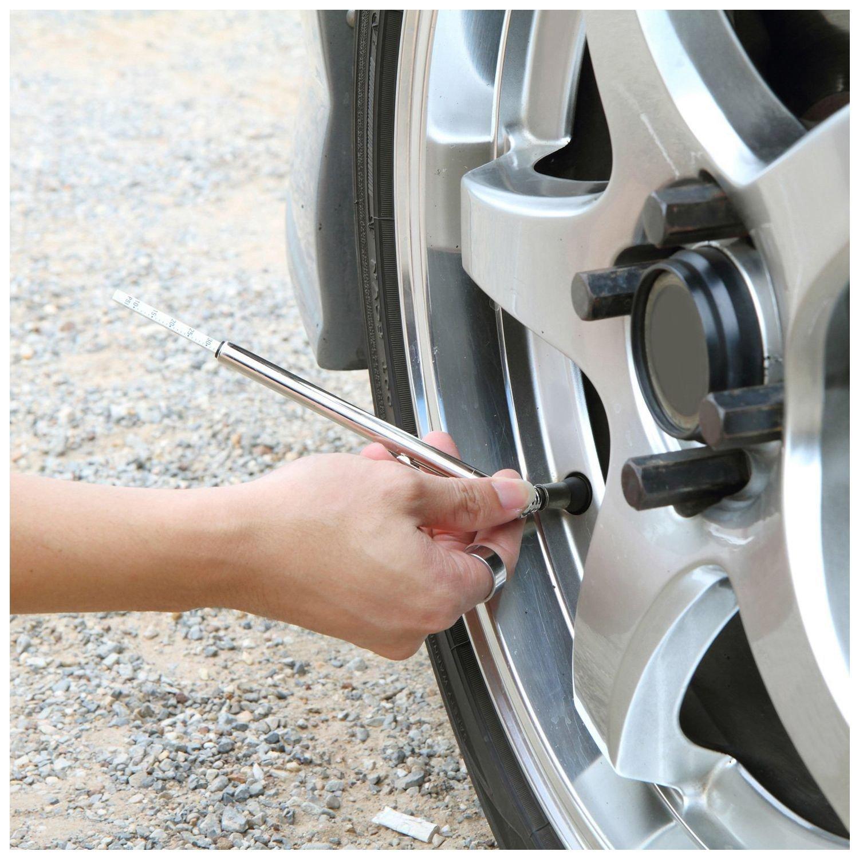 SODIAL 2 Pack Tire Gauges Tire Pressure Gauges Pen Style R