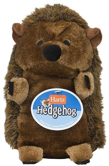 Amazon Com Hartz Plush Hedgehog Dog Toy Large Pet Supplies