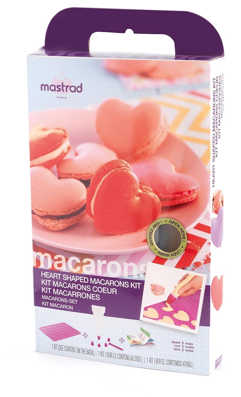 Mastrad Macaron Kit f45760Heart Silicone Berry 33.5x 5x 20.9cm