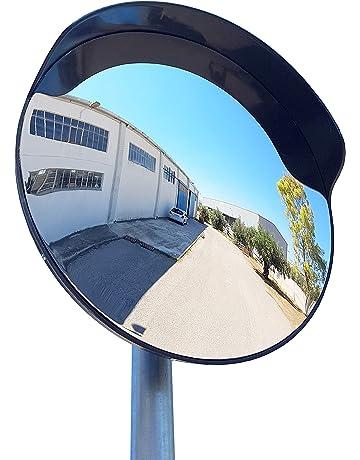 ECM-60-B2-o Espejo de seguridad, convexo, de color negro