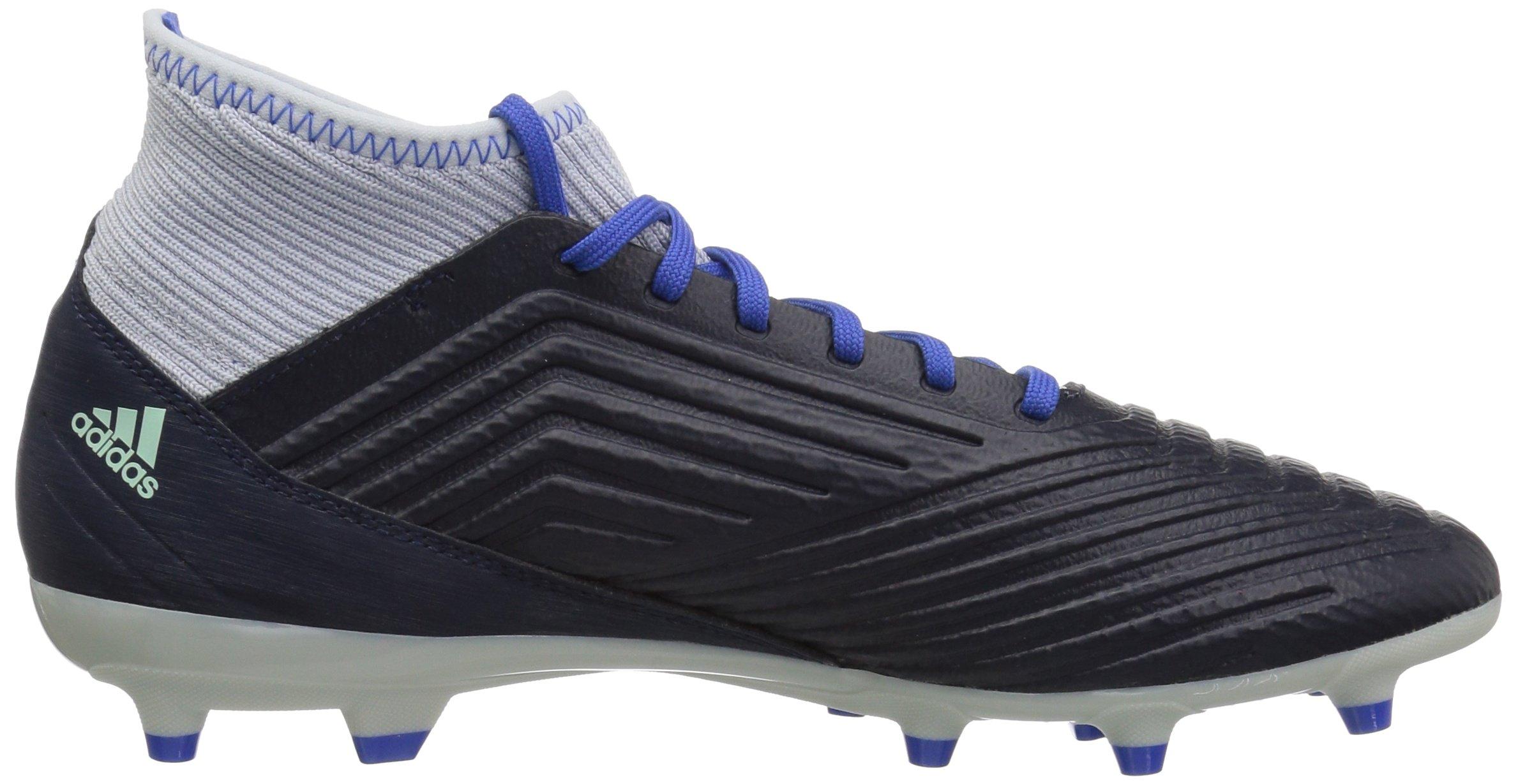 adidas Women's Predator 18.3 Firm Ground Soccer Shoe Legend Ink/Silver Metallic/aero Blue 5.5 M US by adidas (Image #6)