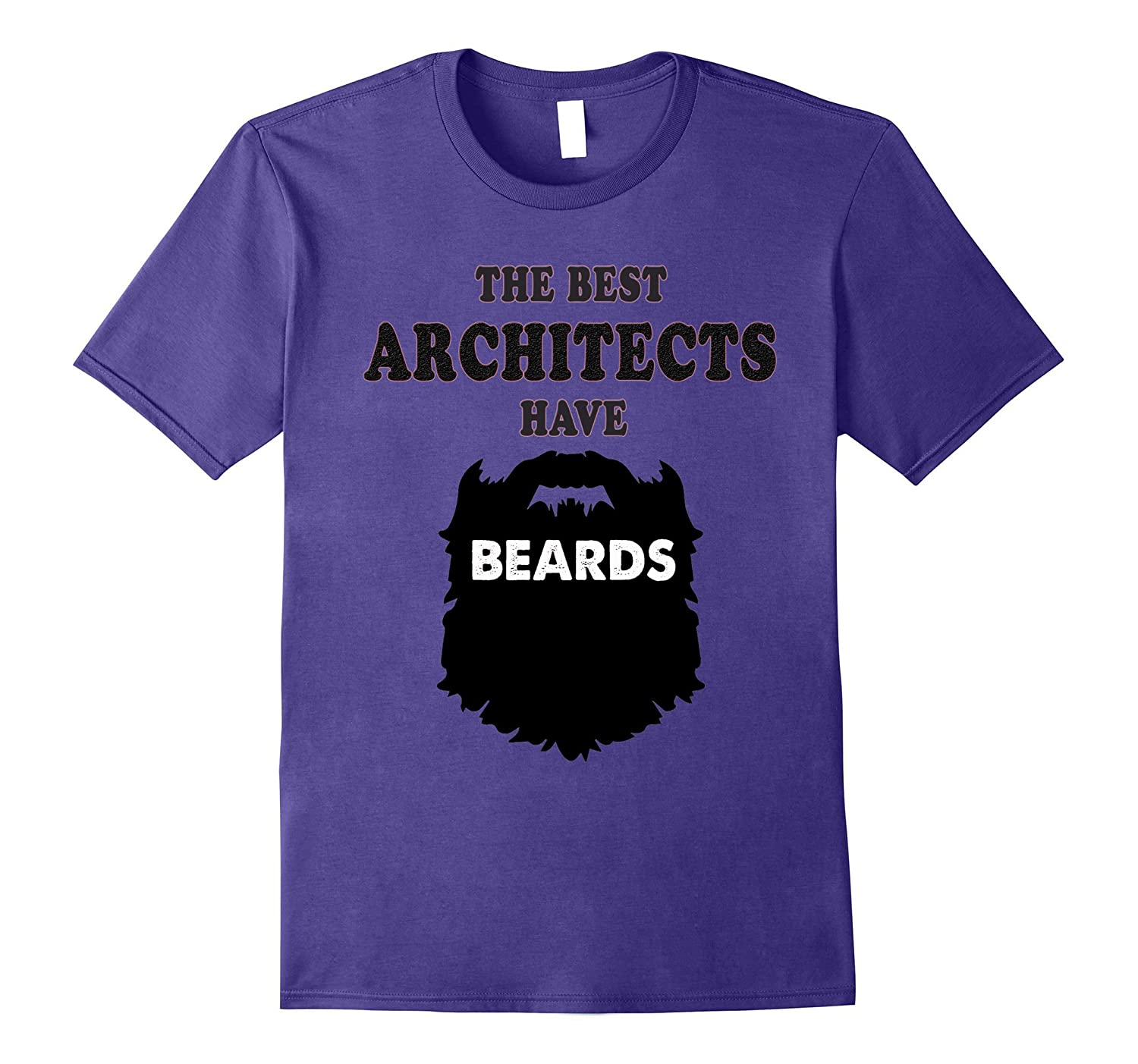 Best Architects Have Beards Gift Tees Shirt Pl Theteejob