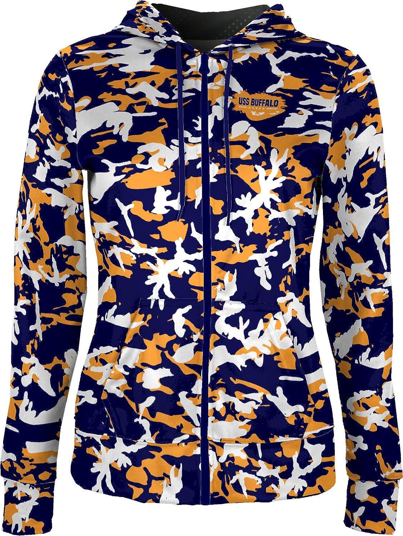 ProSphere Women's USS Buffalo Military Camo Fullzip Hoodie