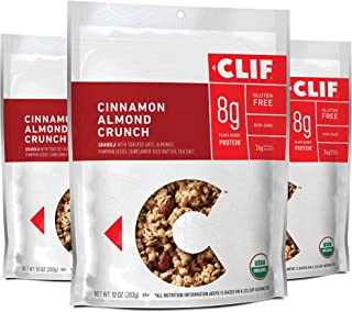 product image for Clif Bar Organic Gluten Free Granola (Packaging May Vary) Cinnamon Almond 10 Ounce (Pack of 3)