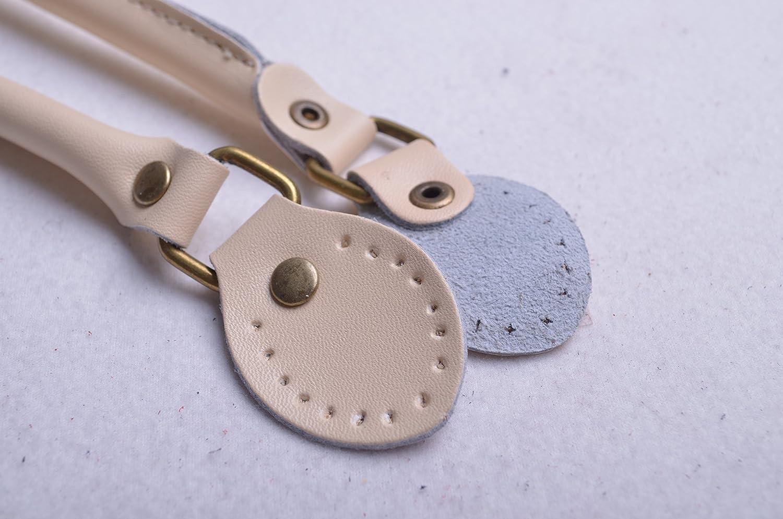 WENTO Pair 23.6 Inches Fuschia Purses Straps,cowhide Leather Purse Handles,genuine Leather Handles,cowhide Leather Purses Straps,soft Cow Leather Straps,purse Making Supplies /… Fuschia