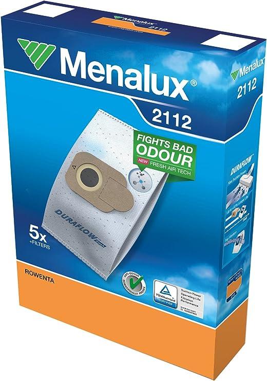 Menalux 2112 – Bolsas para aspiradores Rowenta 39, 63, 64 y RO 68 ...