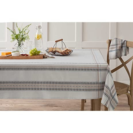 Perfect HomeCrate Elegant French Picnic Collection Tablecloth   60u0026quot; ...