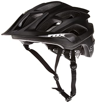Fox Flux MTB - Casco, color negro mate, Hombre, color negro - matte