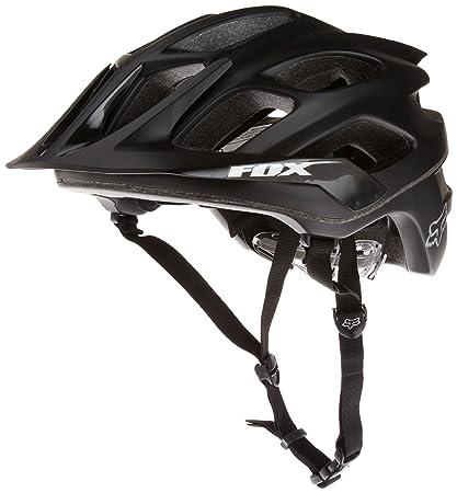 7b86d6476d2 Amazon.com : Fox Men's Flux Helmet, Matte Black, X-Small/Small ...