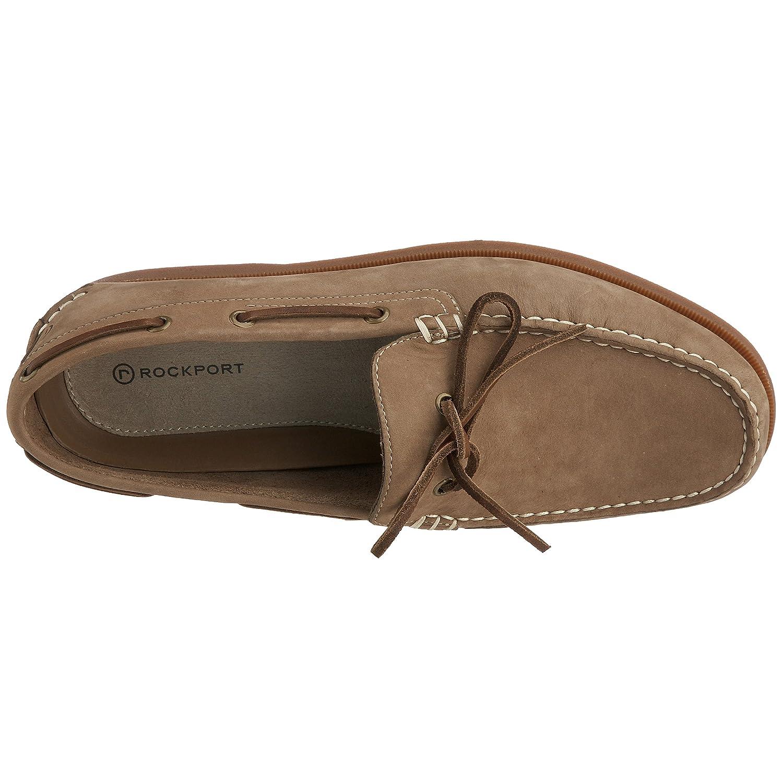 Rockport K52259 - Mocasines de ante para hombre, color marrón, talla 43: Amazon.es: Zapatos y complementos