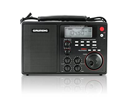Eton Grundig S450DLX Deluxe AM / FM / Shortwave Radio - Black, NGS450DLB