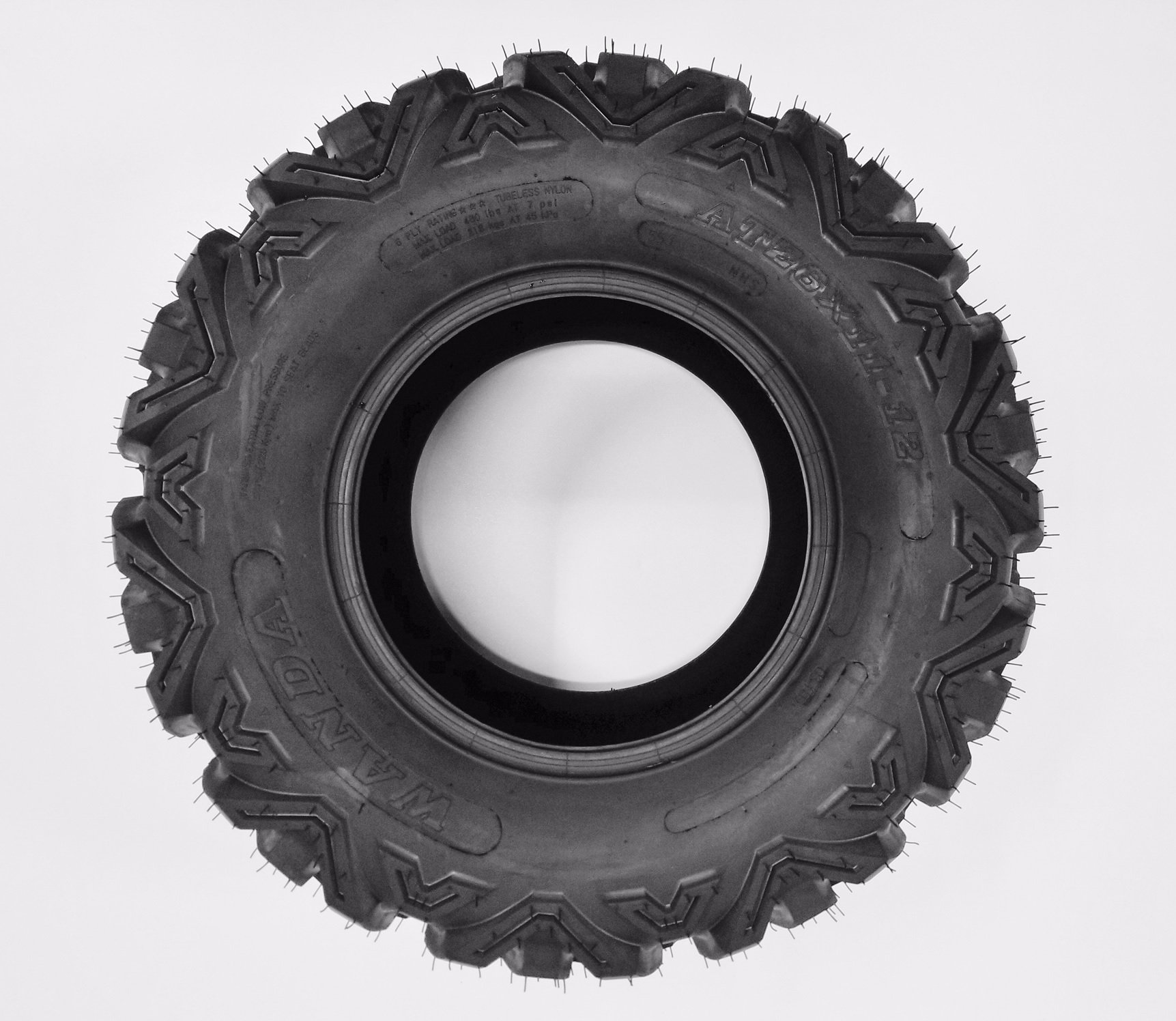 SunF A033 Power.I AT 26x9-14 ATV UTV Tire, All-Terrain Off-Road, 6 PR, Tubeless